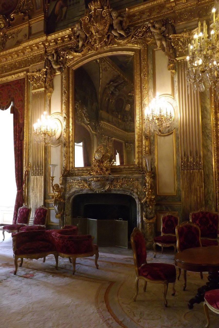 voyageursaulouvre archive du blog les grands appartements du ministre d etat au louvre 1856 61. Black Bedroom Furniture Sets. Home Design Ideas