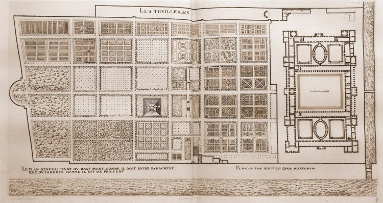 Le Palais Et Le Jardin Des Tuileries Voyageursaulouvre